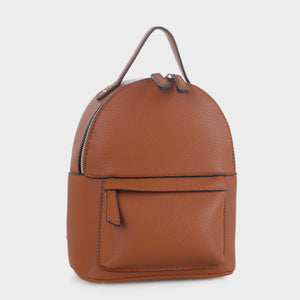 Classic Mini Backpack with Top Handle (GS19121 BR)