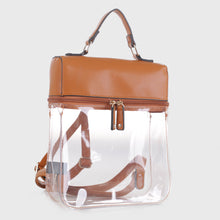 Load image into Gallery viewer, Clear Boxy Backpack (TF19526 BR)