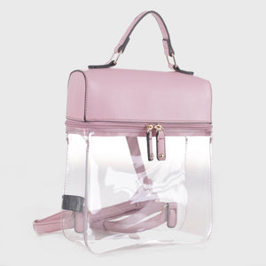 Clear Boxy Backpack (TF19526 HPK)