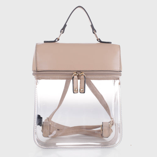 Clear Boxy Backpack (TF19526)