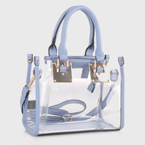 Clear Body Square Satchel (TS19512 LBL)
