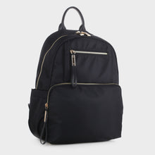 Load image into Gallery viewer, Nylon Backpack with Top Handle (YL19139 BK)