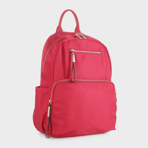 Nylon Backpack with Top Handle (YL19139 RD)