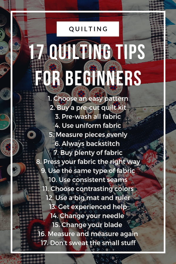 4c4973df7c 17 Easy Quilting Tips Every Beginner Needs to Know – Quilt King Products