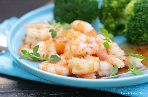 Frozen- Wild Gulf Shrimp- Medium (10lb)