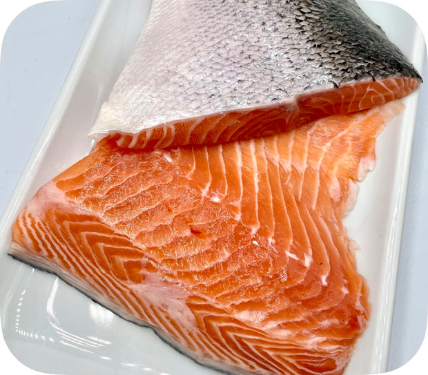 Fresh - Tail/Collar Cut Gulf of Maine Atlantic Salmon Fillet