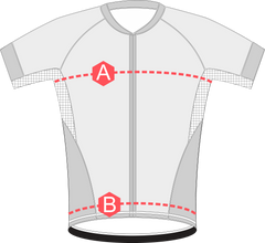 SS jersey sizing measurements