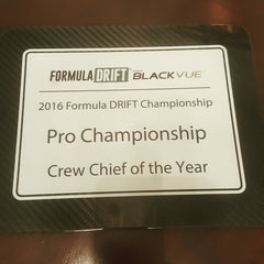Rick Lamber - 2016 Pro Drift Crew Chief of the Year