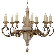 Load image into Gallery viewer, Carved Acanthus Chandelier