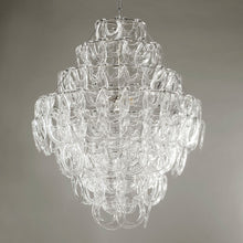 Load image into Gallery viewer, Sorbonne Glass Chandelier