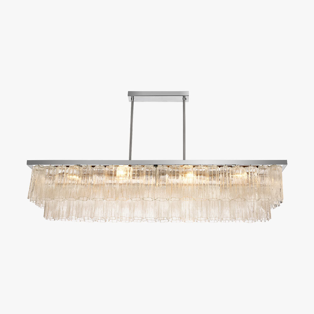 Pentagon Rectangular Chandelier