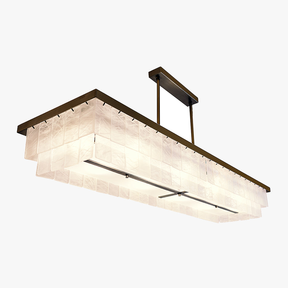 Savile Row Rectangular Chandelier