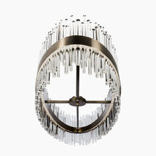 Load image into Gallery viewer, Bond Street Oval Chandelier