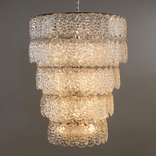 Load image into Gallery viewer, Valere Glass Chandelier