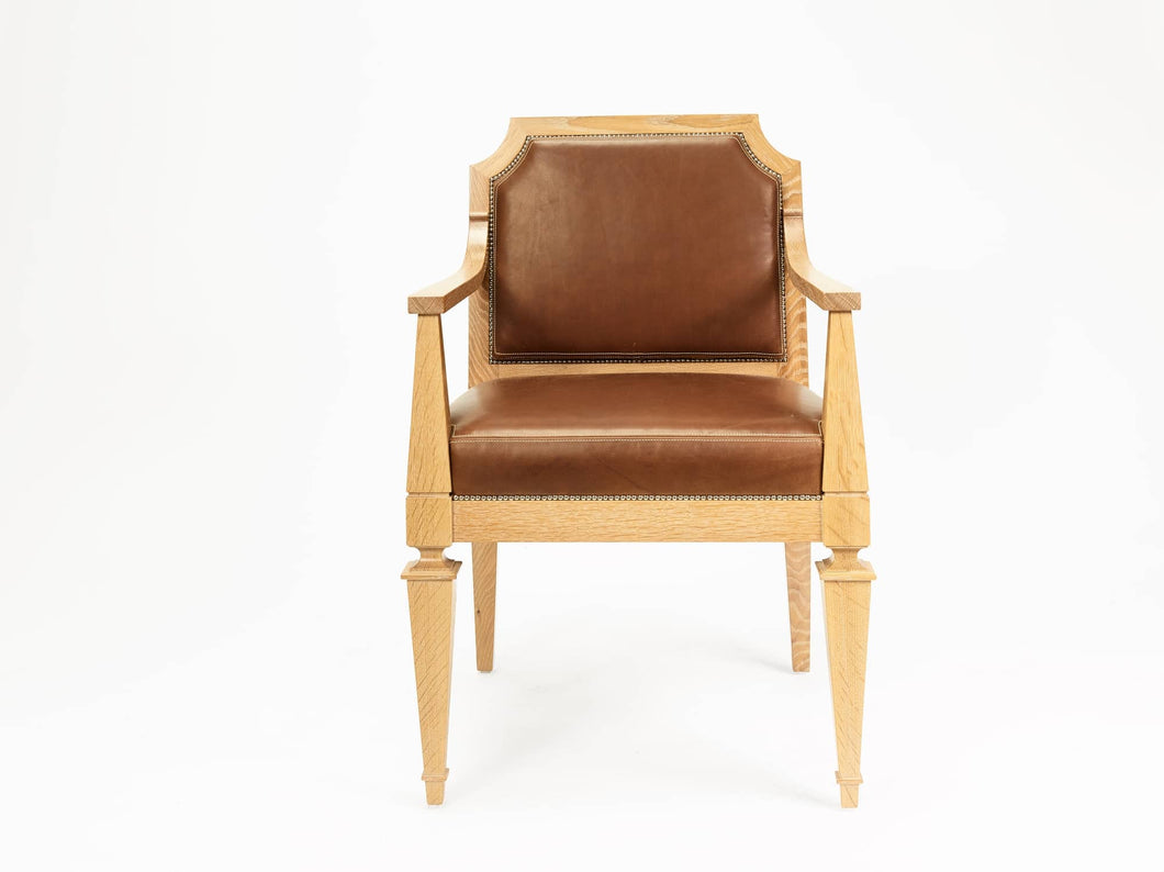 The Sofia Chair in Solid Oak