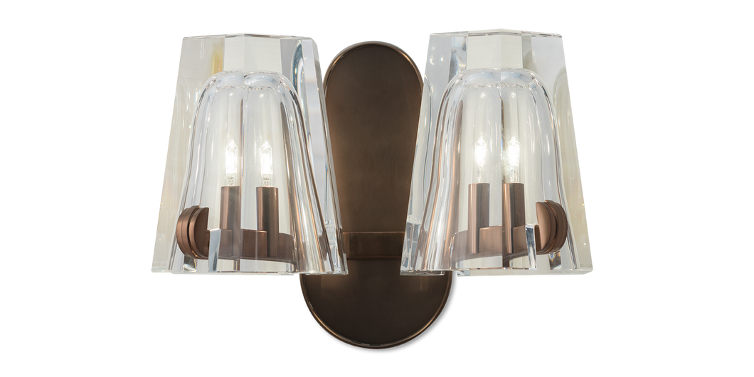 Reims Double Arm Sconce