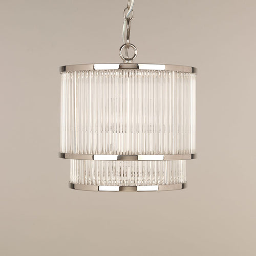 Ripon Glass Rod Ceiling Light