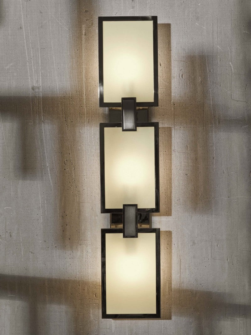 Archer Small Linked Rectangular Sconce
