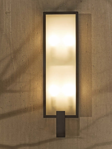 Archer Tall Wall Exterior Sconce