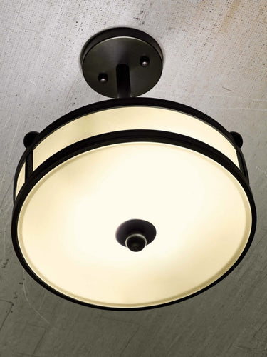 Brockway Large Round Ceiling Pendant