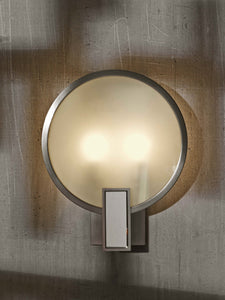 Brockway Round Upright Sconce