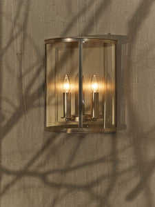 Gilette Round Exterior Sconce