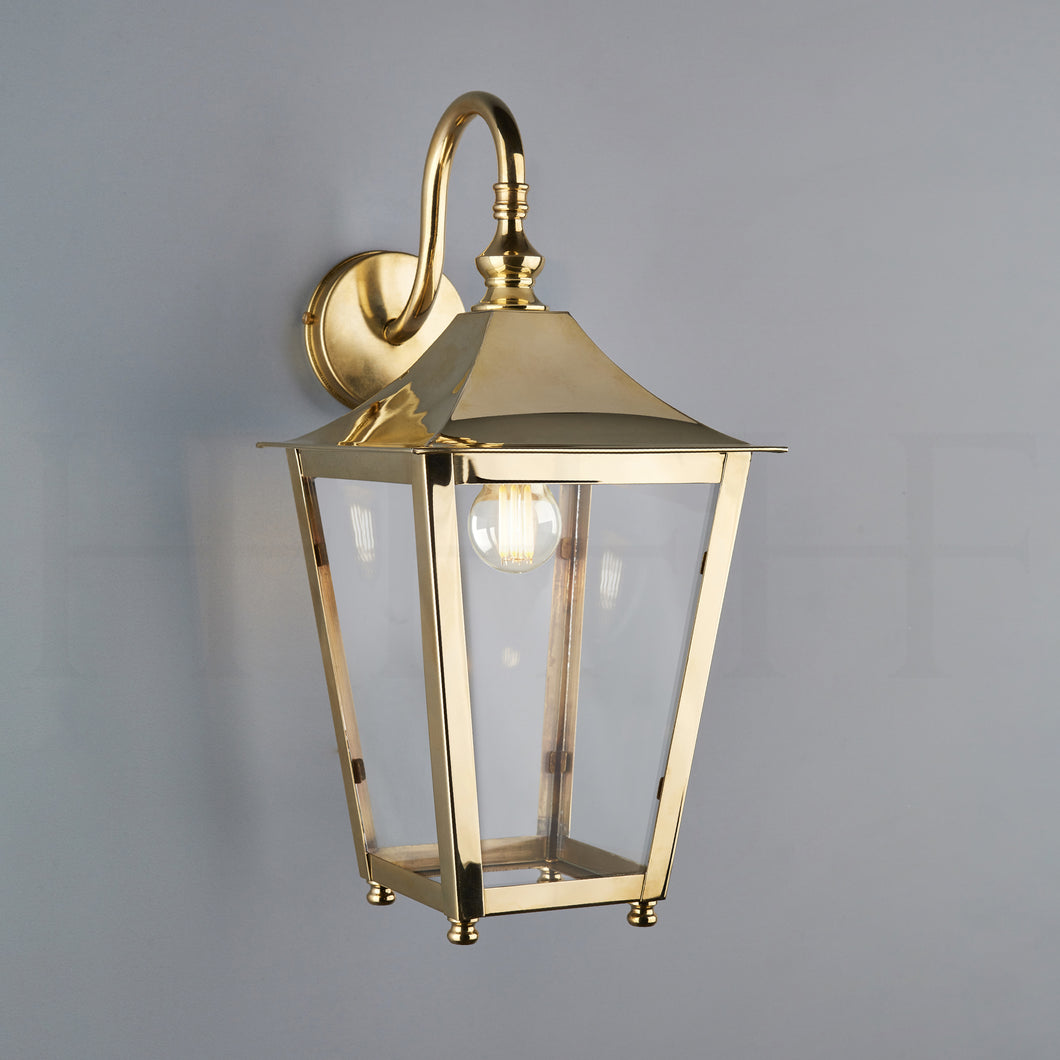 Athena Hanging Lantern on a Bracket