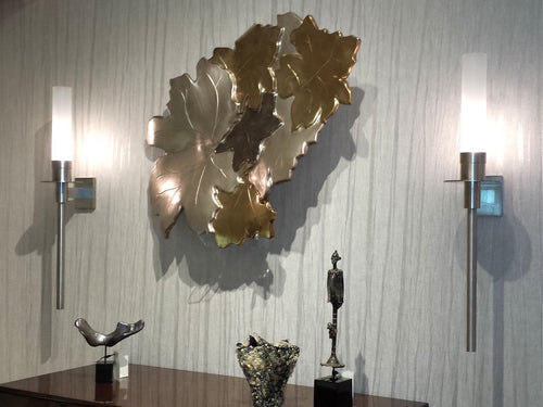 Multi Leaf Wall Art