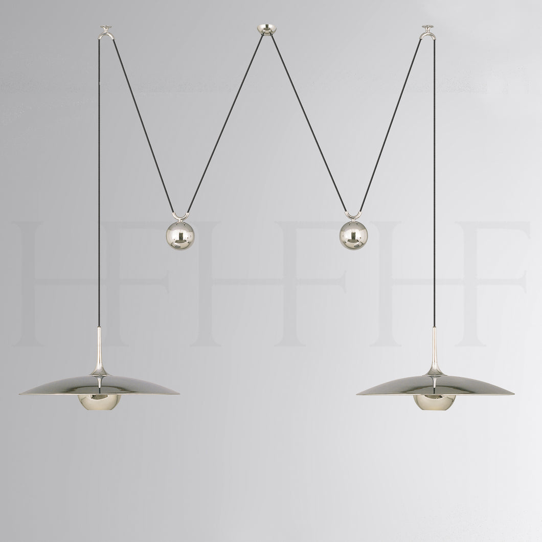 ONOS Adjustable Pendant Lamp, double pull