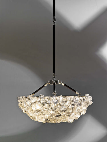 Rock Crystal Hanging Bowl