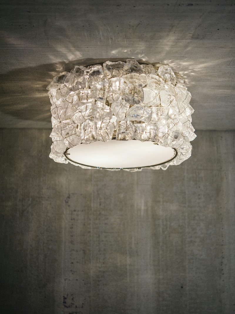 Rock Crystal Galaxy Ceiling Mount