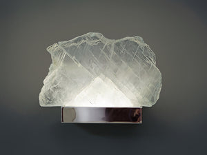 Floating Selenite Sconce