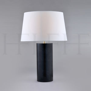 Charcoal Vellum Table Lamp