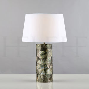 Black Lip Shell Table Lamp