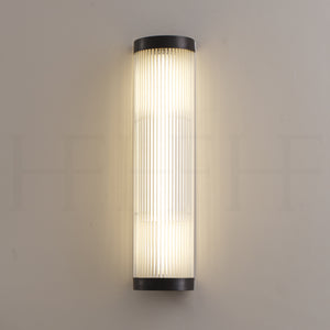 Wide Pillar Light with Glass Rods
