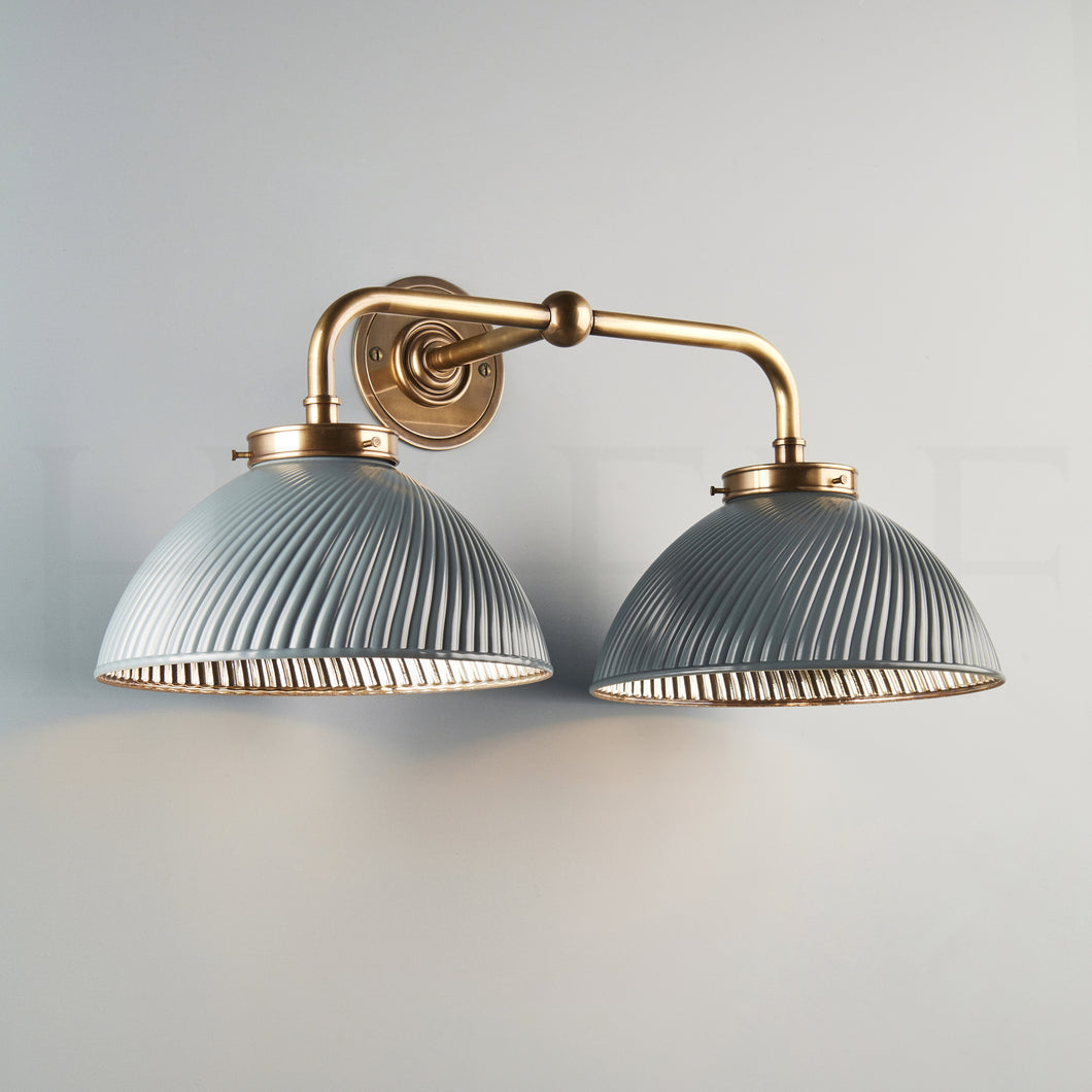 Tiber Wall Light, Double