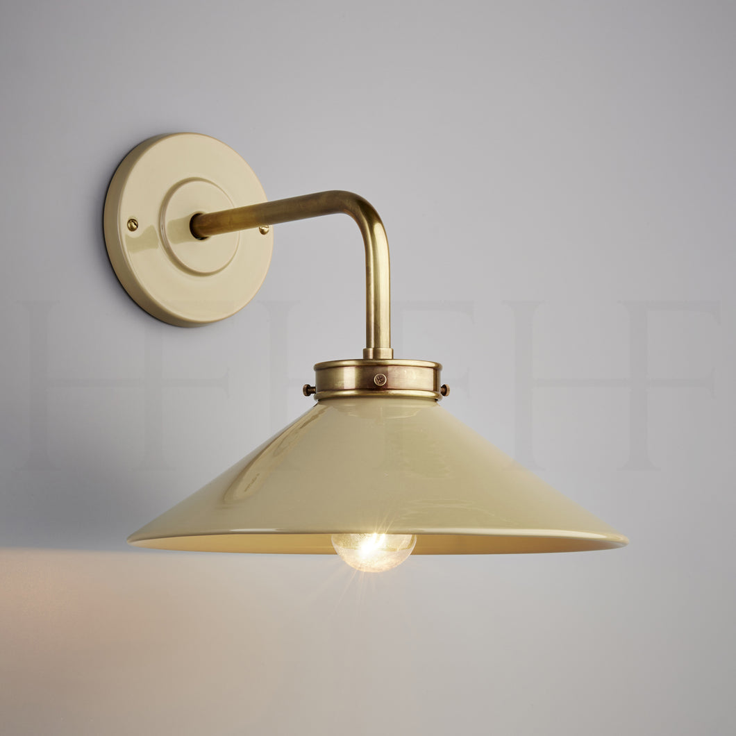 Lucia L Bracket Wall Light Taupe