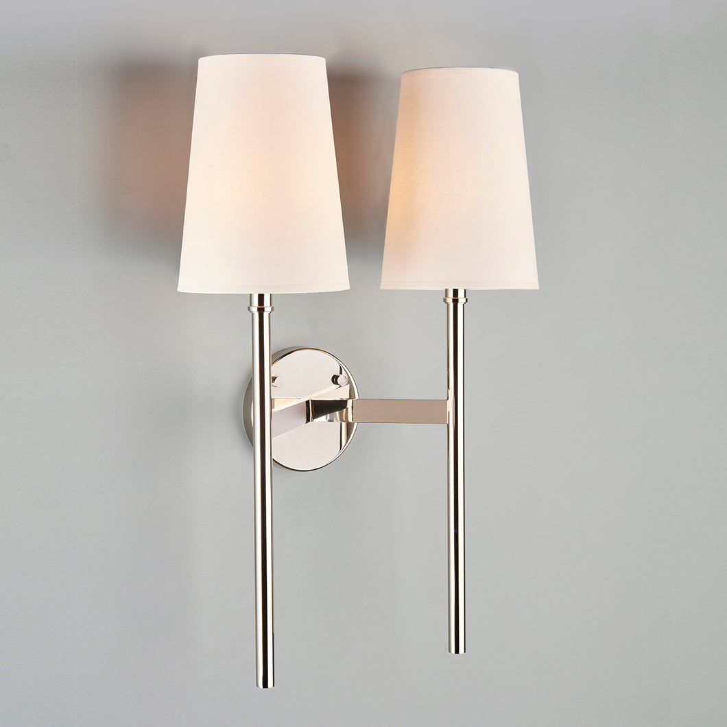 Guinevere Wall Light, Double