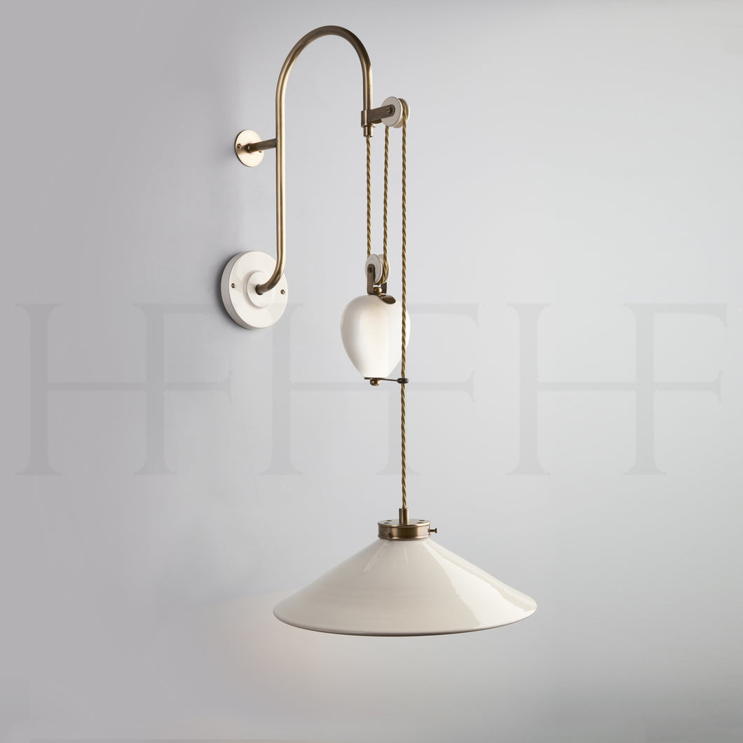 Lucia Rise and Fall Wall Light