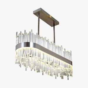 Bond Street Rectangular Chandelier