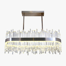 Load image into Gallery viewer, Bond Street Rectangular Chandelier