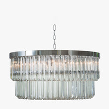 Load image into Gallery viewer, Two Tier Drum Chandelier