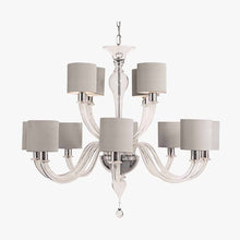 Load image into Gallery viewer, Raphael Chandelier with drum shades