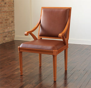 Saddle Chair with Arms