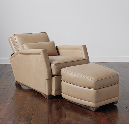 Loro Chair and Ottoman