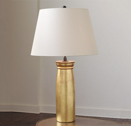 Gilded Rook Table Lamp