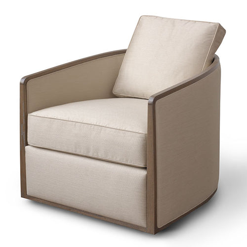 Baril Swivel Lounge Chair