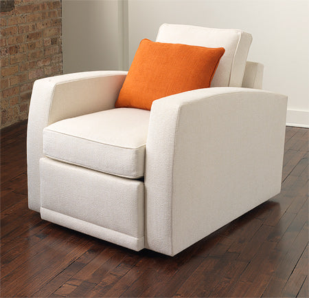De-Vos Swivel Lounge Chair