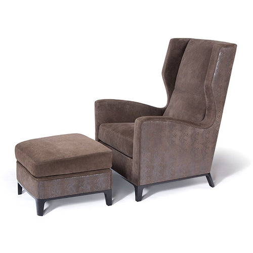 Canard Lounge Chair and Ottoman