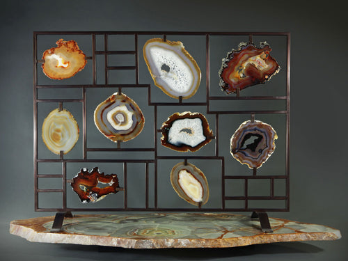 Agate Fire Screen